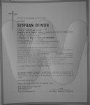Overlijdensbericht Stefaan Dumon