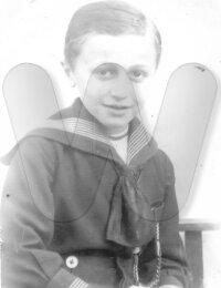 De jonge Wilfried Dumon