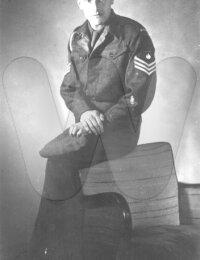 Antoine Dumon in uniform