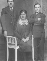 Louis, Madeleine en Maurice Lauwereins