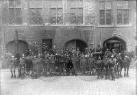 Groepsfoto brandweerkorps Brugge