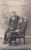 Huwelijksfoto Valère Jacobs en Irma Haemelinck