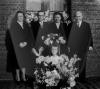 Albert en Berengère De Vriese - Innegraeve met moeder van de bruidegom Blanche Haerinck en vader van de bruid Maurice Innegraeve